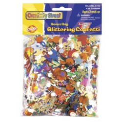 CONFETTI GLITTERING 4oz VALUE PACK