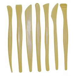 CLAY TOOLS PLASTIC FOR SCULPTING 7 PC