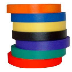 TAPE RAINBOW COLOR MASKING 18 MM X 55 M BLACK