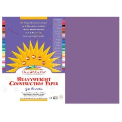 "CONSTRUCTION PAPER 65 lb.12"" X 18"" 50 ct. VIOLET"