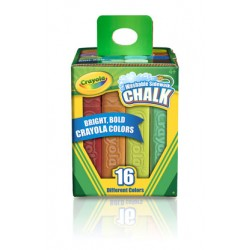 CHALK  SIDEWALK COLORS CRAYOLA 16 ct