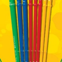 BRUSHES CRAYOLA ART AND CRAFT 8 PACK