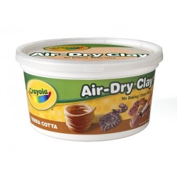 CLAY CRAYOLA AIR DRY 2.5 LB TERRA COTTA