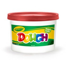 DOUGH MODELING CRAYOLA 3# TUB  RED
