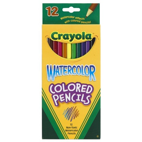 PENCIL CRAYOLA WATERCOLOR  12ct.