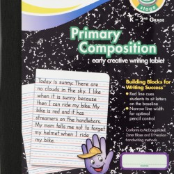 COMPOSITION BOOK MEAD PRIMARY RULED