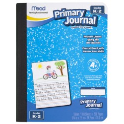 "COMPOSITION BOOK MEAD PRIMARY JOURNAL 9 3/4"" X 7 1/2"" 100 ct"