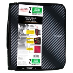 BINDER FIVE STAR MULTI-ACCESS FILE W/ 6 POCKET FILES 2""