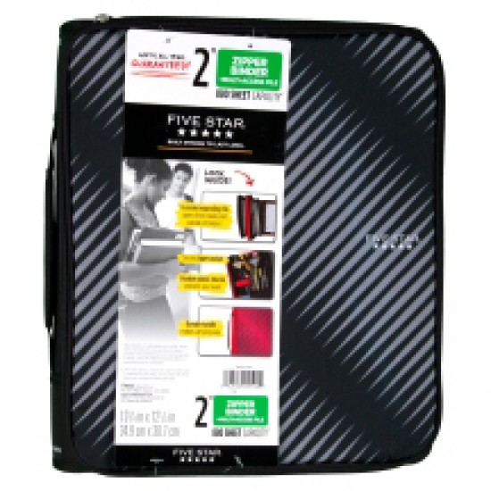BINDER FIVE STAR MULTI-ACCESS W/ 6 POCKET FILES 2""