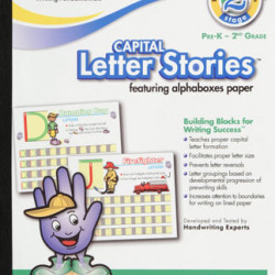HANDWRITING TABLET MEAD 10 X 8 LETTER STORIES CAPITAL