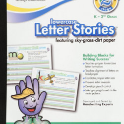 HANDWRITING TABLET MEAD 10 X 8 LETTER STORIES LOWERCASE