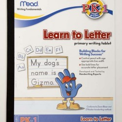 HANDWRITING TABLET MEAD LEARN TO LETTER 8 X 10 40ct