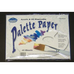 "PALETTE PAPER TEAR-OFF 9"" X 12"" 40 ct"