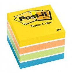 NOTE PAD POST-IT 2 X 2 400ct  2051-NMC