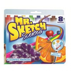MARKERS MR. SKETCH  SCENTED   8 ct.