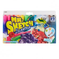 MARKERS MR. SKETCH  SCENTED   12 ct.