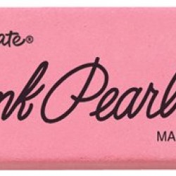 ERASERS PINK PEARL MEDIUM