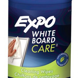 EXPO DRY ERASE BOARD CLEANING WIPES DISPENSER 50 CT